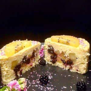 Gâteau polenta sans gluten