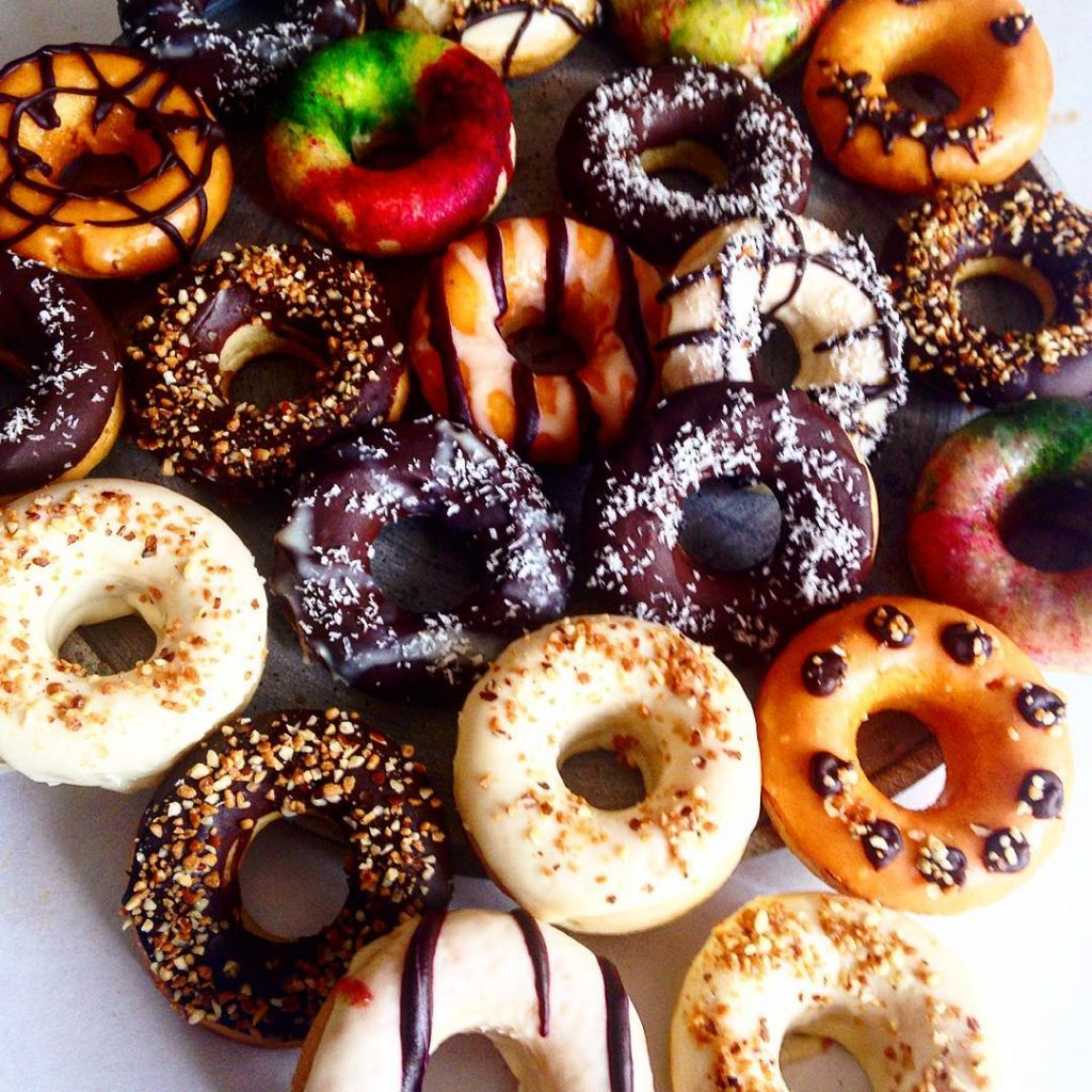 Donuts sans huile haloween
